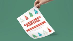 Christmas Festival - Event Flyer