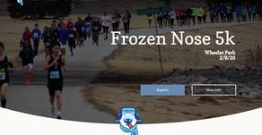 Frozen Nose 5k - Event Website