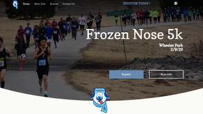 Frozen Nose 5k - Event Website
