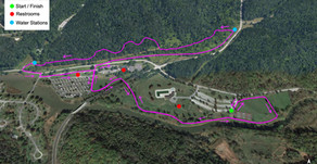 Wildflower 5k Trail Map