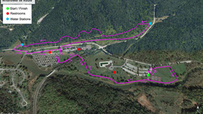 Wildflower 5k Trail Map