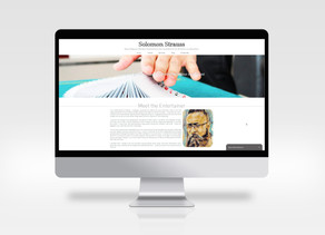 Solomon Strauss - Web and Print Design