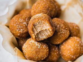 Snickerdoodle doughnut holes