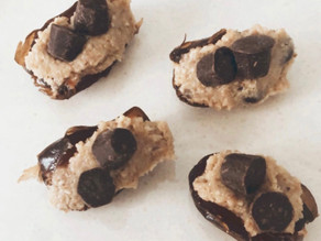Remake granola butter stuffed dates