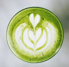 Matcha collagen latté
