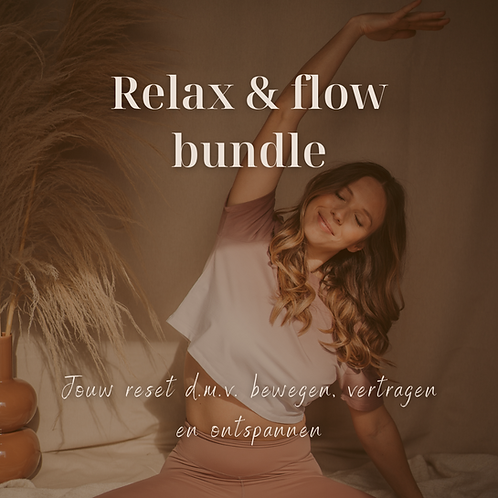 Relax & flow bundle