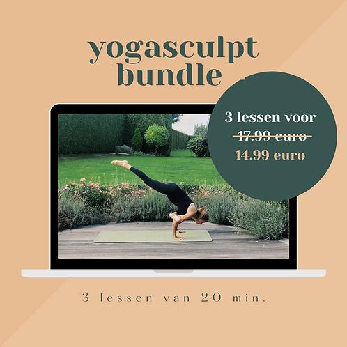 the yogasculpt bundle