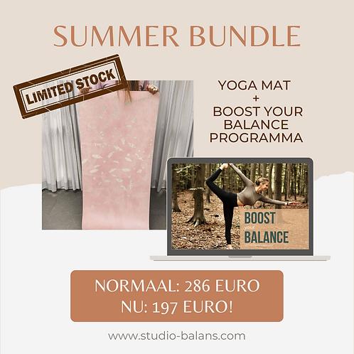 glam mind yoga mat + BYB programma