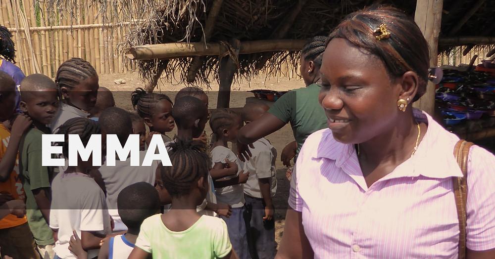Emma leder vårt arbeid i Liberia.