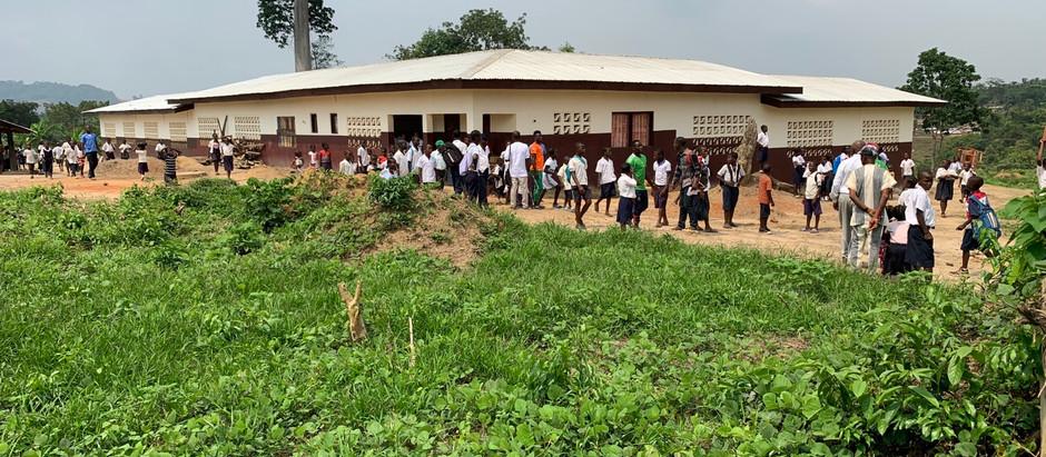 Vi fortsetter å øke vår aktivitet i Liberia!