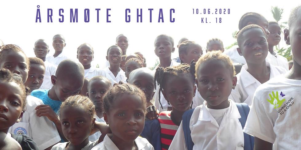 Årsmøte 2020 Giving Hope to a Child