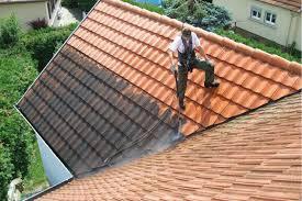 Nettoyage d'une toiture dans les Yvelines (78)