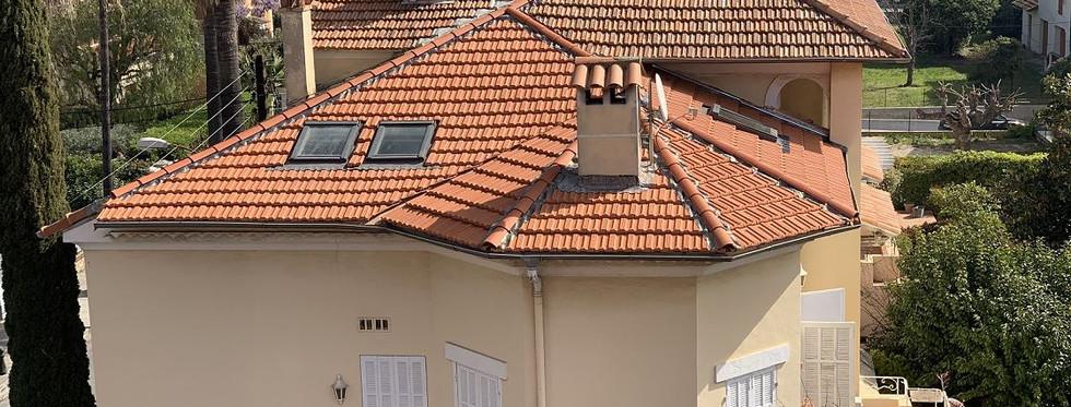 Photo de la toiture après rénovation