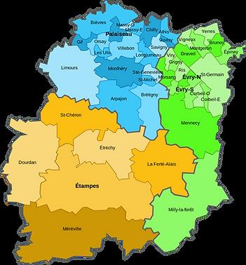 Couvreur 91 intervient dans toutes les villes de l'Essonne (91)