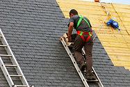 Rénovation d'une toiture ardoises