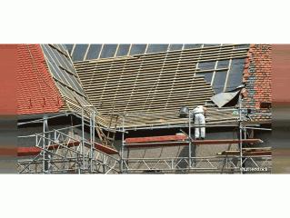 Renovation d'une toiture en Ile de France