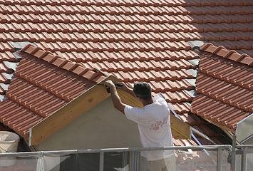 Rénovation d'une toiture en tuiles mécaniques