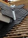 Rénovation d'une toiture ardoise