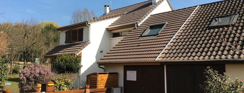 Rénovation de toiture - Avant-Après