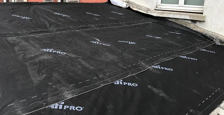 Isolation toiture avec pose d'un écran sous toiture