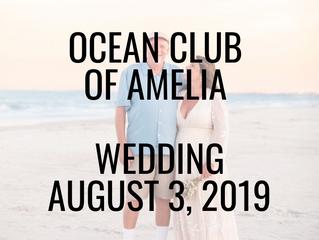 Ocean Club of Amelia | Wedding
