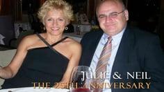 Neil & Julie 25th