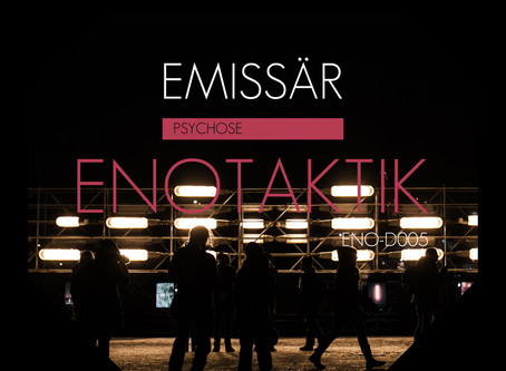 Emissär - Psychose EP mastered and available now!