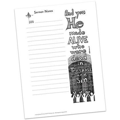 Sermon Notes HS - Ephesians 2:2