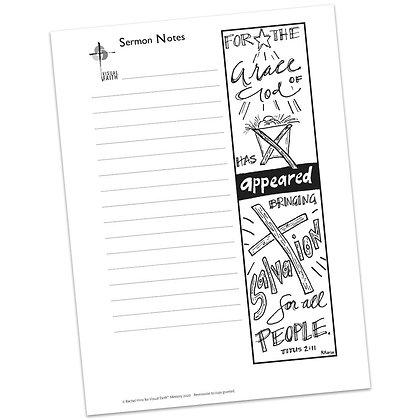 Sermon Notes HS - Titus 2:11