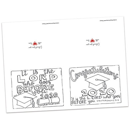 Graduation Note Cards by Valerie Matyas