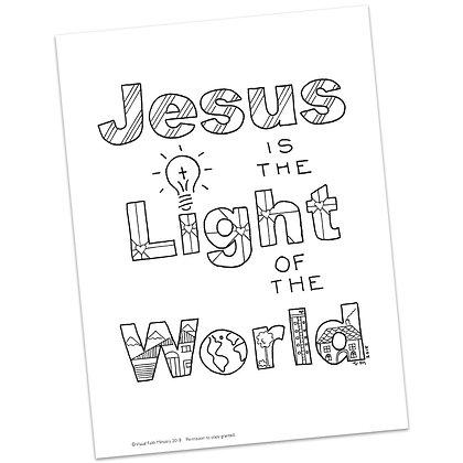 John 3:19 HS by Valerie Matyas