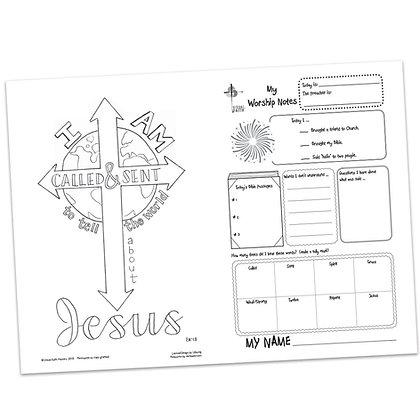 Children's Bulletin - Mark 6:7