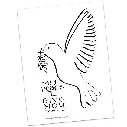 John 14:27 HS by Valerie Matyas