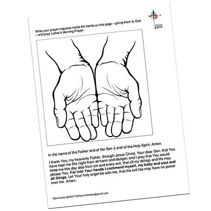 Luthers Morning Prayer with Hands