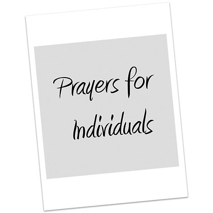 Prayers for Individuals