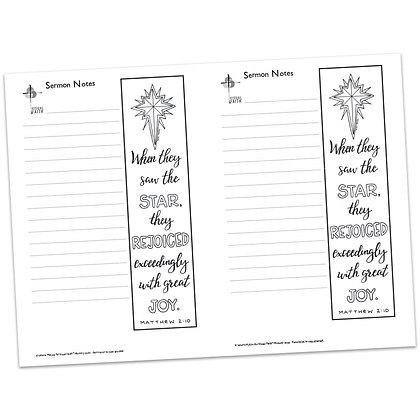 Sermon Notes - Matthew 2:10 (vs2)