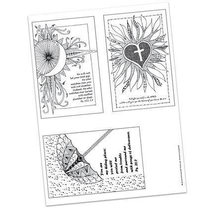 Versicles #13 by Carla Kramer