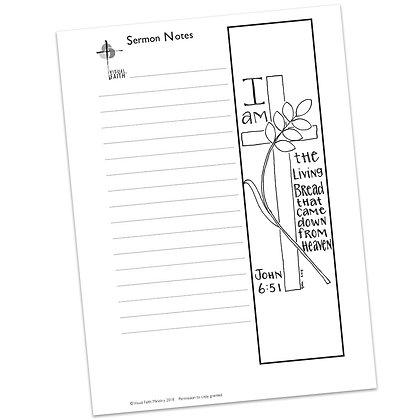 Sermon Notes HS - John 6:51