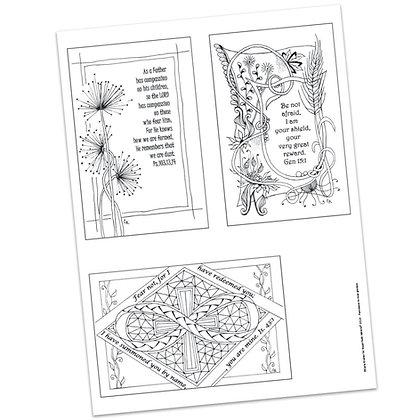 Versicles #7 by Carla Kramer