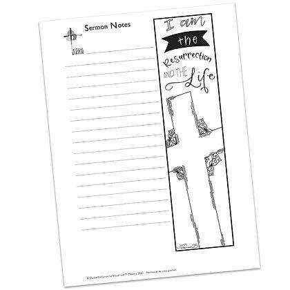 Sermon Notes HS - John 11:25