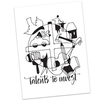 Matthew 25 Talents by Sally Beck
