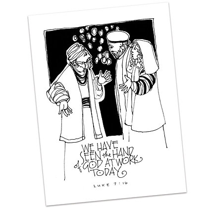 Luke 7:16 by Sally Beck