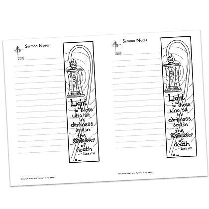 Sermon Notes - Luke 1:79