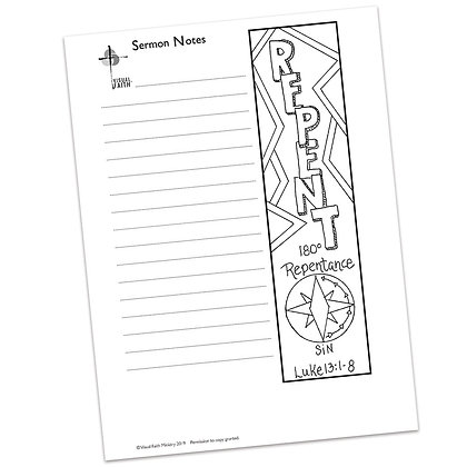 Sermon Notes HS - Luke 13:1-8