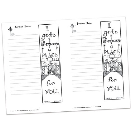Sermon Notes - John 14:2