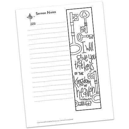 Sermon Notes HS - Matthew 16:19