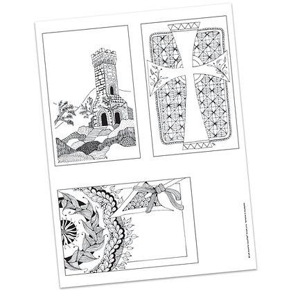 Versicles #16 Blank by Carla Kramer