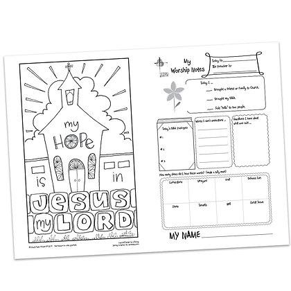 Children's Bulletin - Luke 20:17