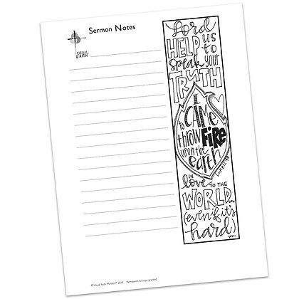 Sermon Notes HS - Luke 12:49