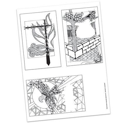 Versicles #6 Blank by Carla Kramer